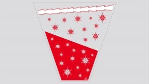 CRISTALLI (Kristali) - Crvena/zlato/bijela - 1kg