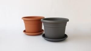 Vaza okrugla (velika) + podmetač