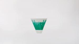 GOCCE VERDE (zelene kapljice) - Vrećica za cvijeće - Štampana - 1kg